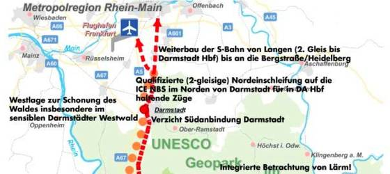BUND ICENeubaustrecke RheinMain RheinNeckar